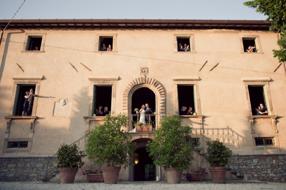 Janice + Chris : A Wedding in Tuscany