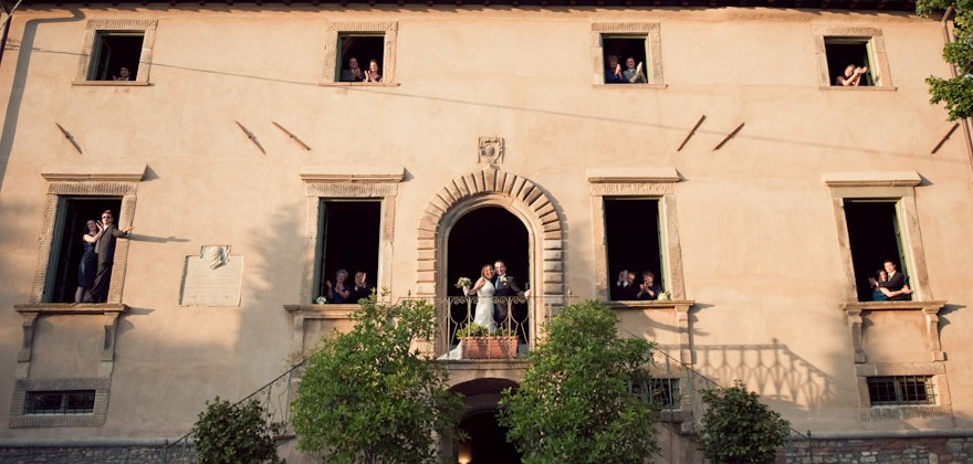 Janice + Chris : A Wedding in Tuscany