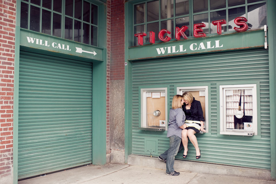red sock ticket booth