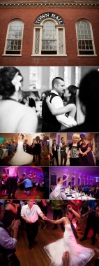 Rachael & Peter, wed at Endicott Park & party at Salem Town Hall