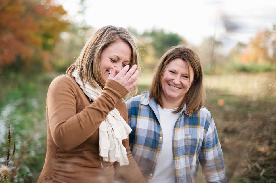 applecrest farms engagement session
