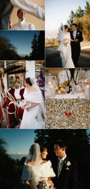 Anisa & Nick - a peek at their Portland, Oregon wedding!