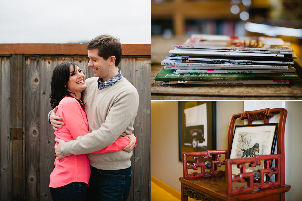 pearl district engagement photographs