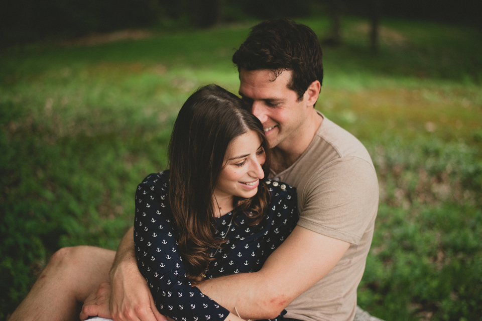 lake sunapee woods engagement