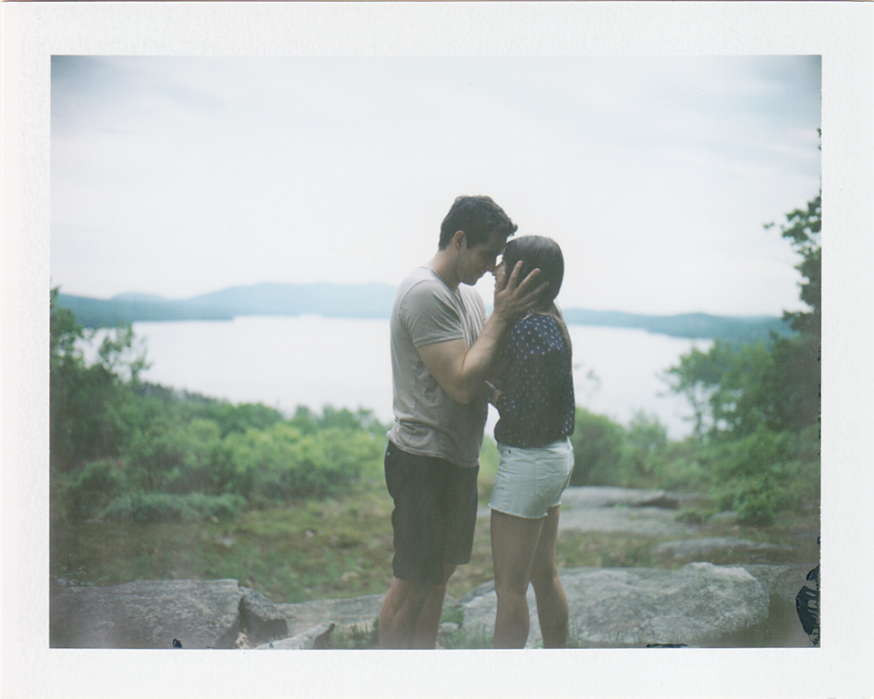 polaroid engagement