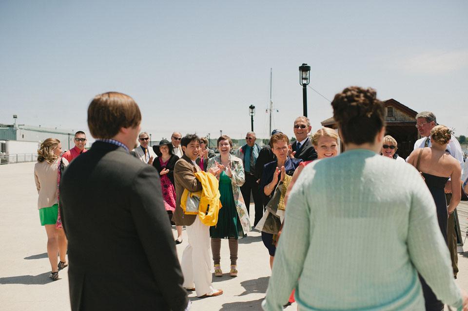 portland harbor wedding