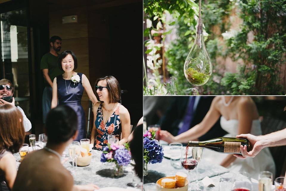 oleana wedding reception
