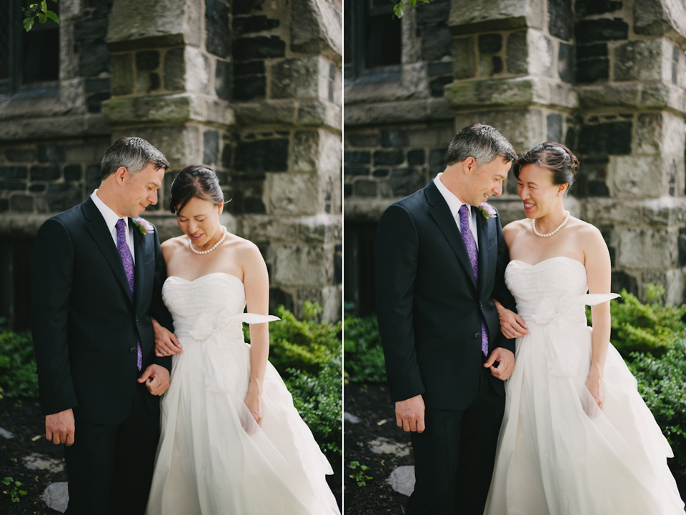 harvard square wedding portraits