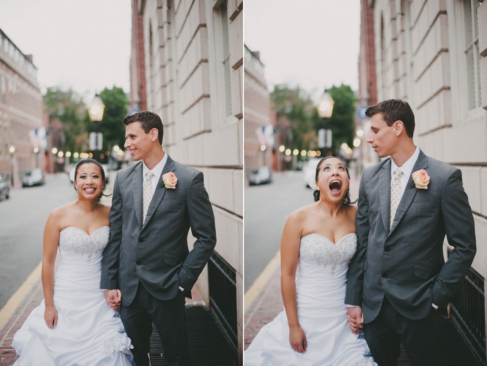 back bay bride and groom portraits