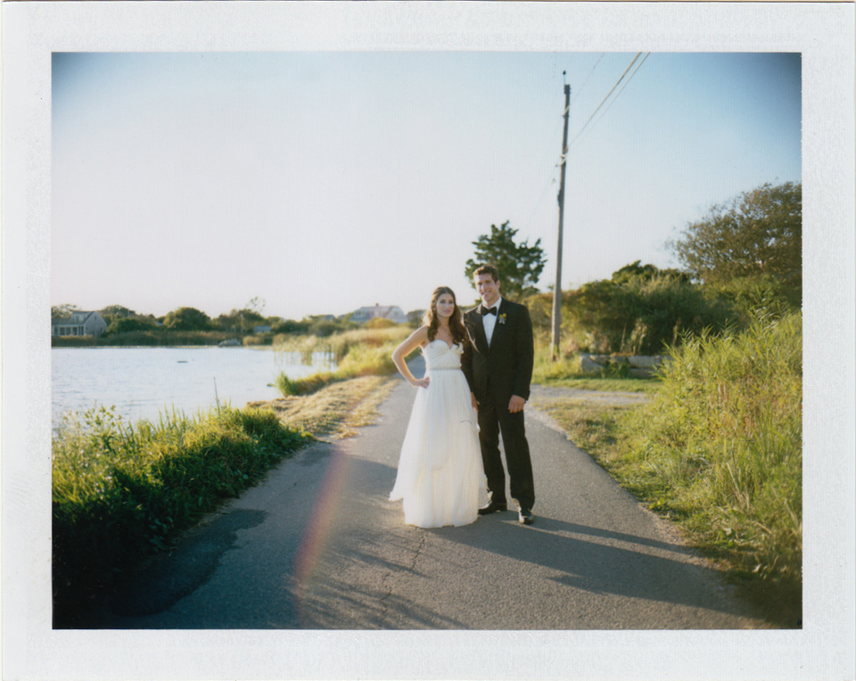 wedding polaroid stone house rhode island
