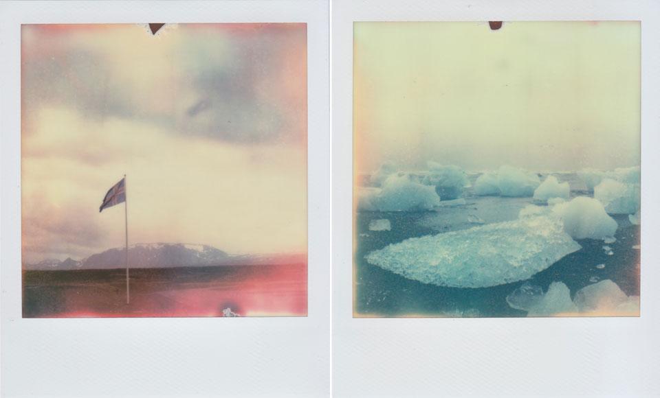 iceland polaroid