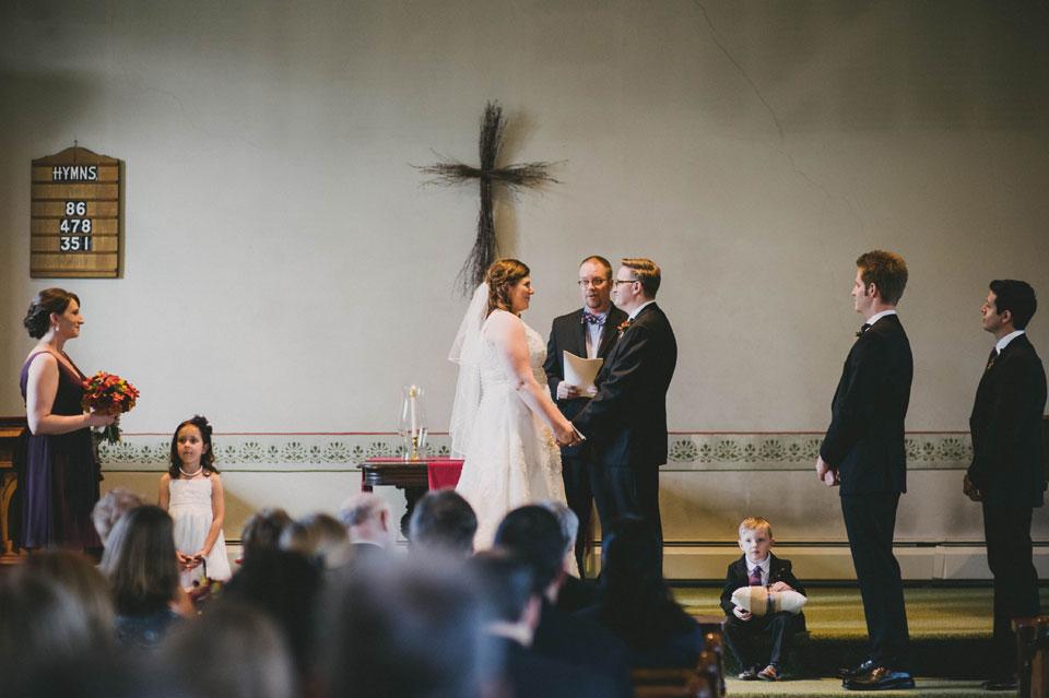 wedding ceremony in grafton vermont