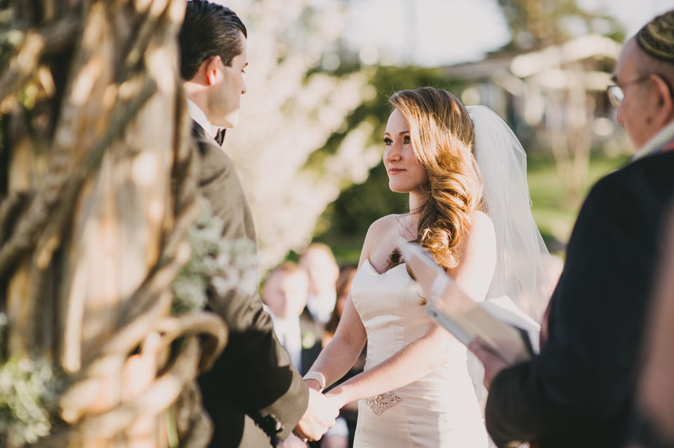 wedding ceremony at the garrison