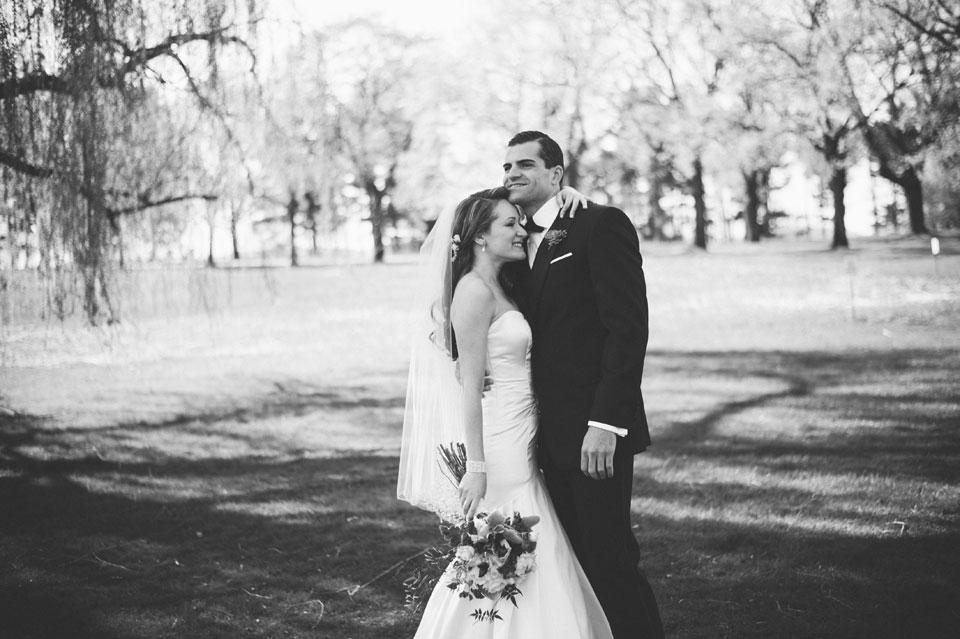 wedding portait the garrison