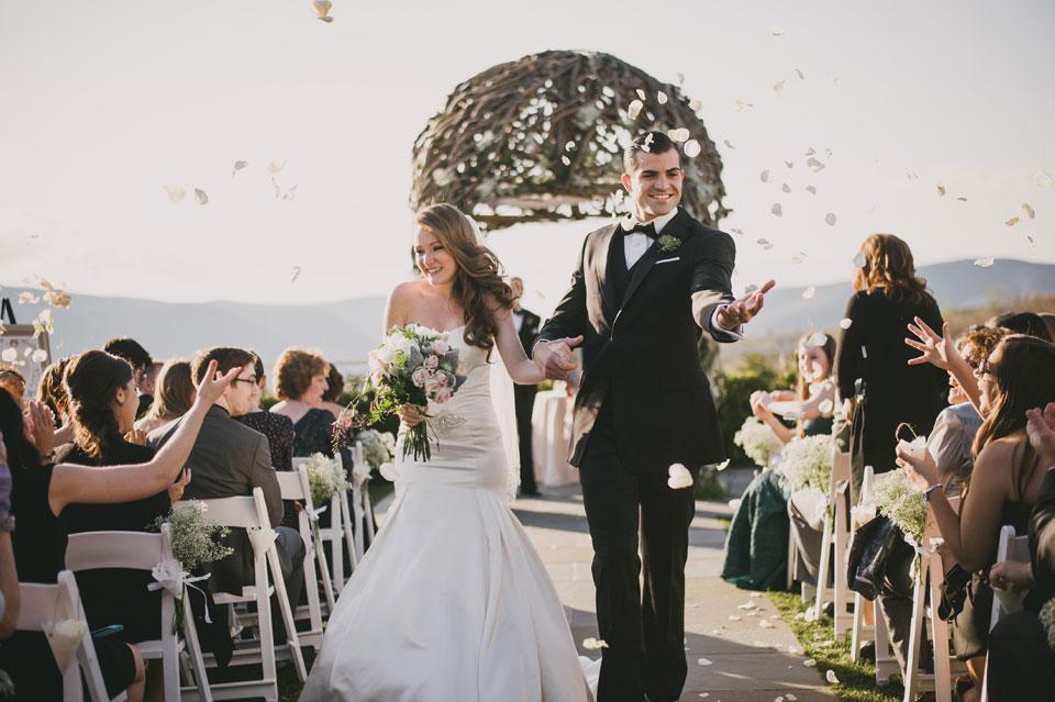 wedding ceremony the garrison new york