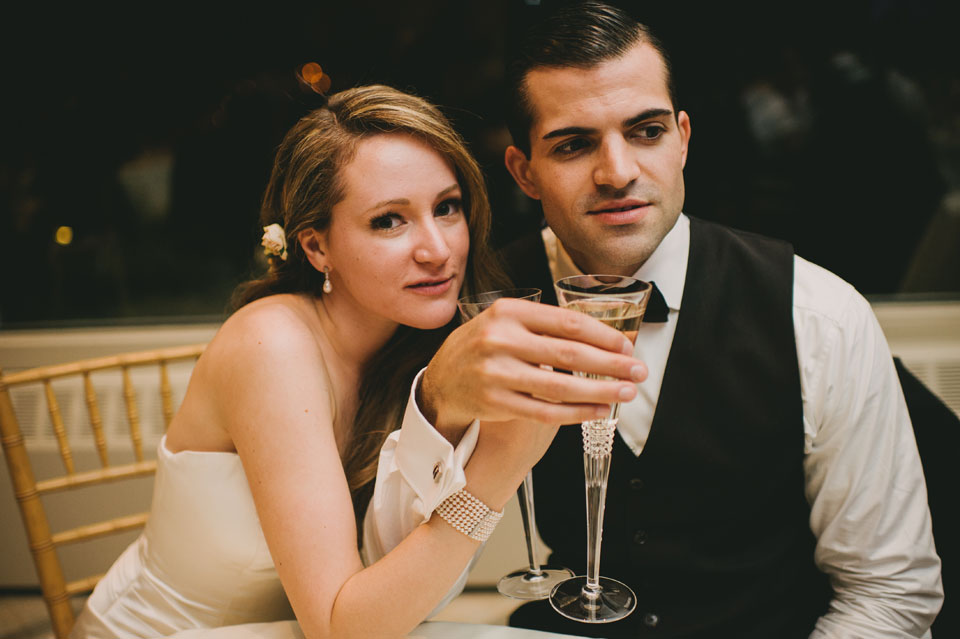 wedding reception at the garrison