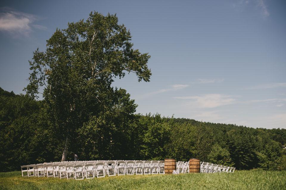 Kitz Farm Wedding Ceremony