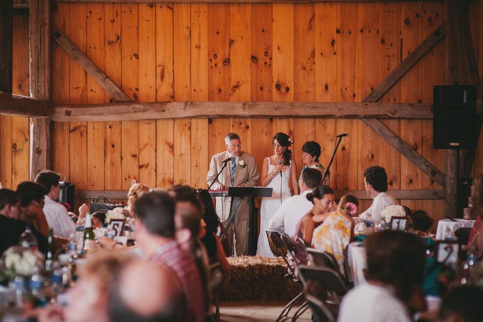 barn reception at kitz farm