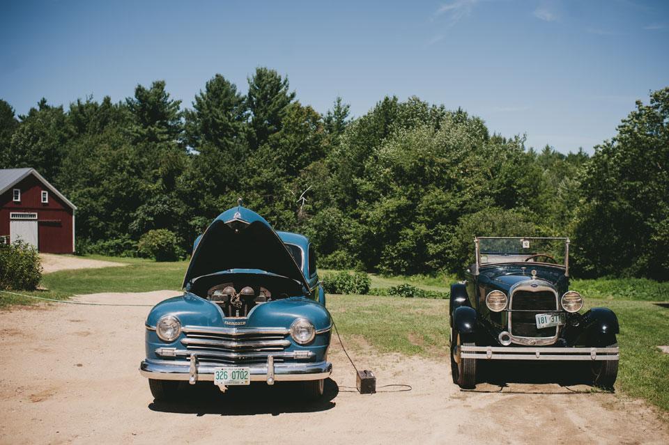 Antique Cars at Kitz farm
