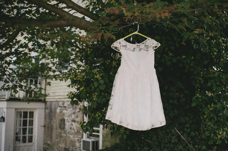 orla kiely cloud wedding dress