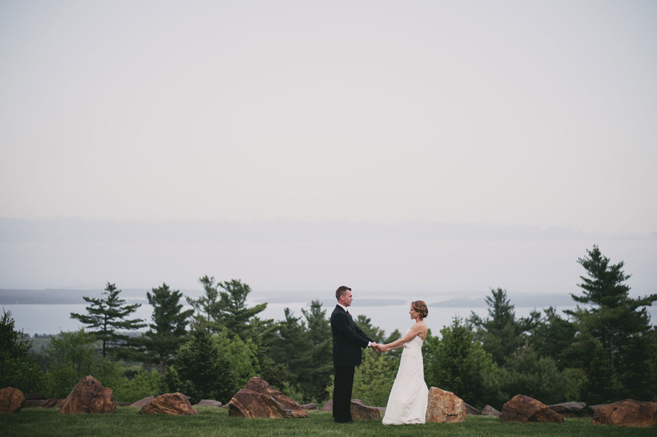 Point lookout, Downeast Maine wedding