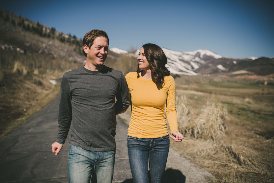 Park City Utah Engagement session