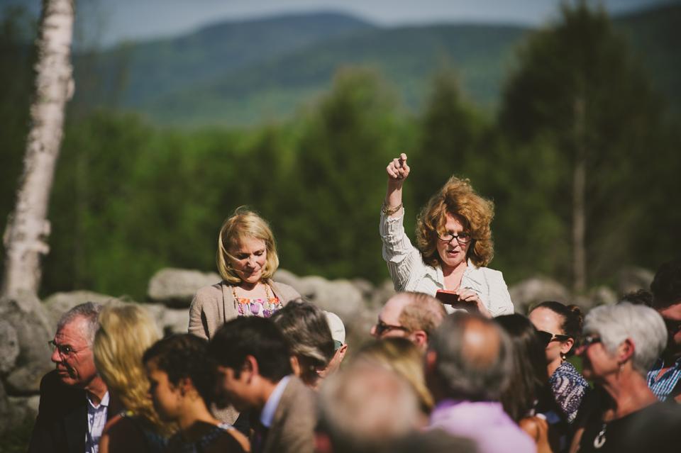 quaker style wedding ceremony in new hampshire