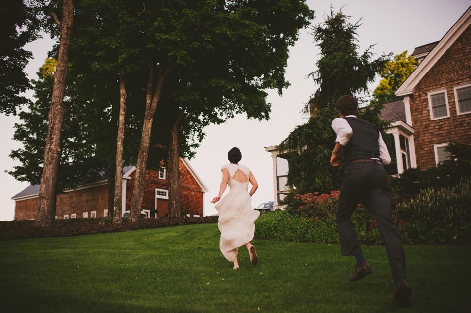 New Hampshire barn wedding
