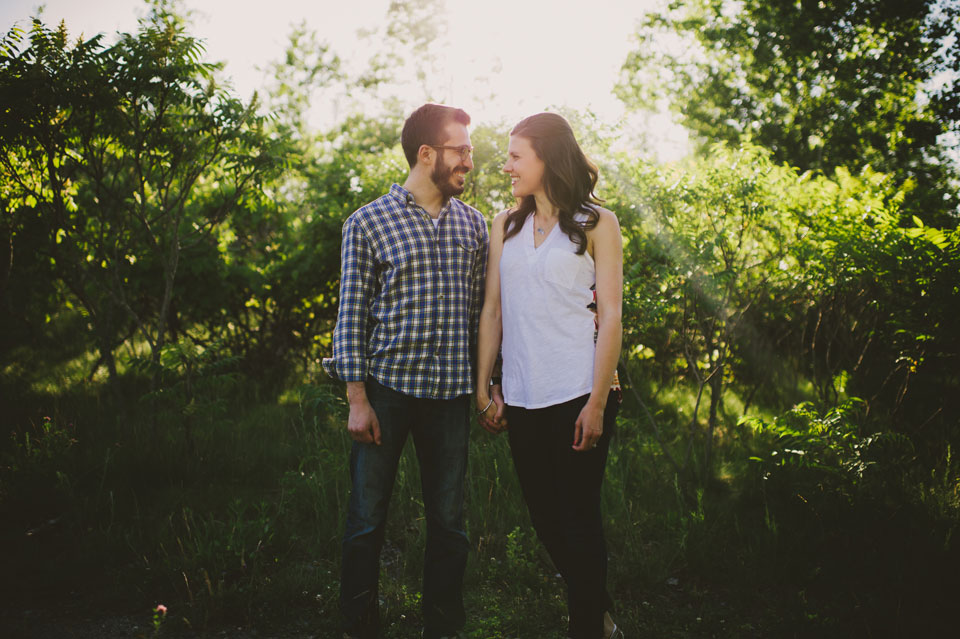 Fells Reservation Engagement session