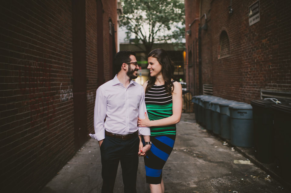 Harvard Square Engagement Session