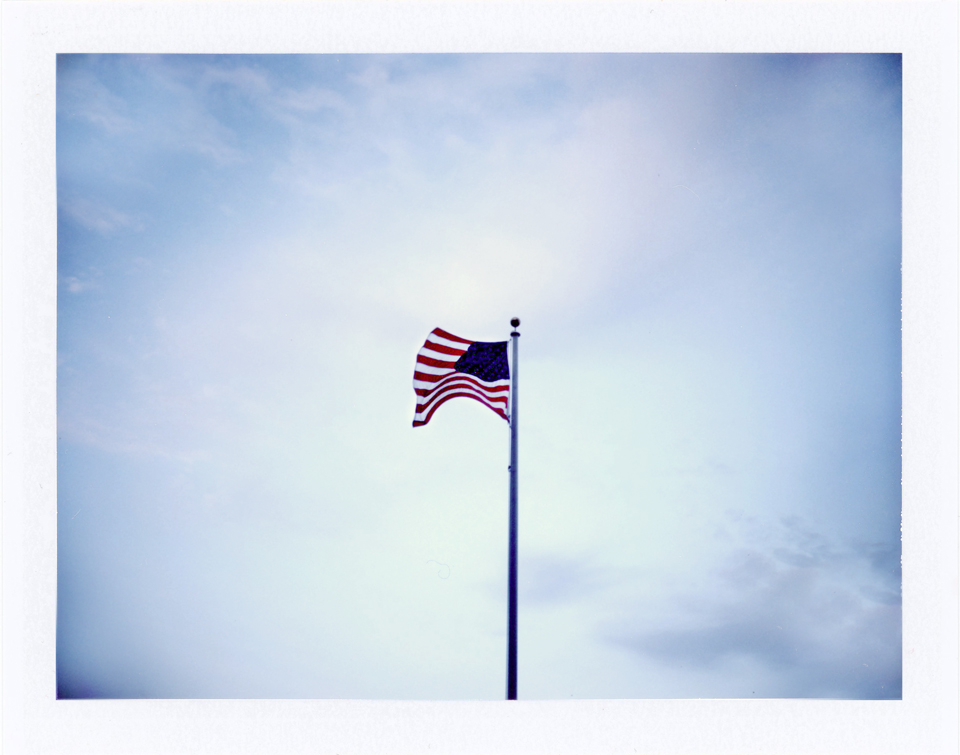 polaroid flag