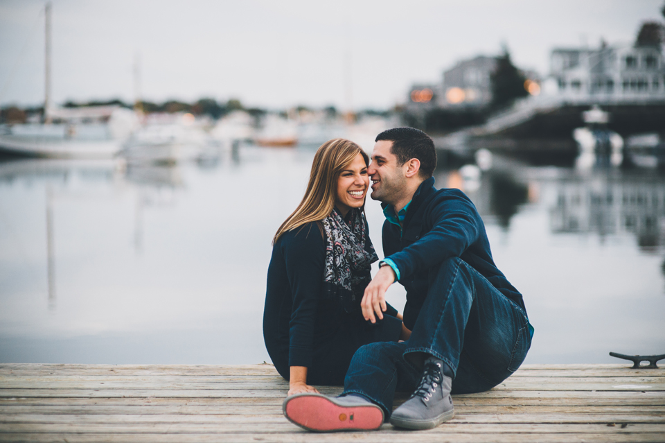 Gloucester, MA engagement session