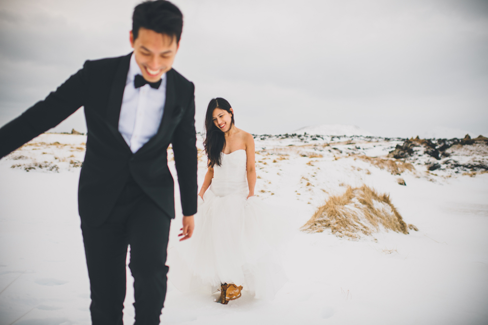 winter iceland wedding photographer