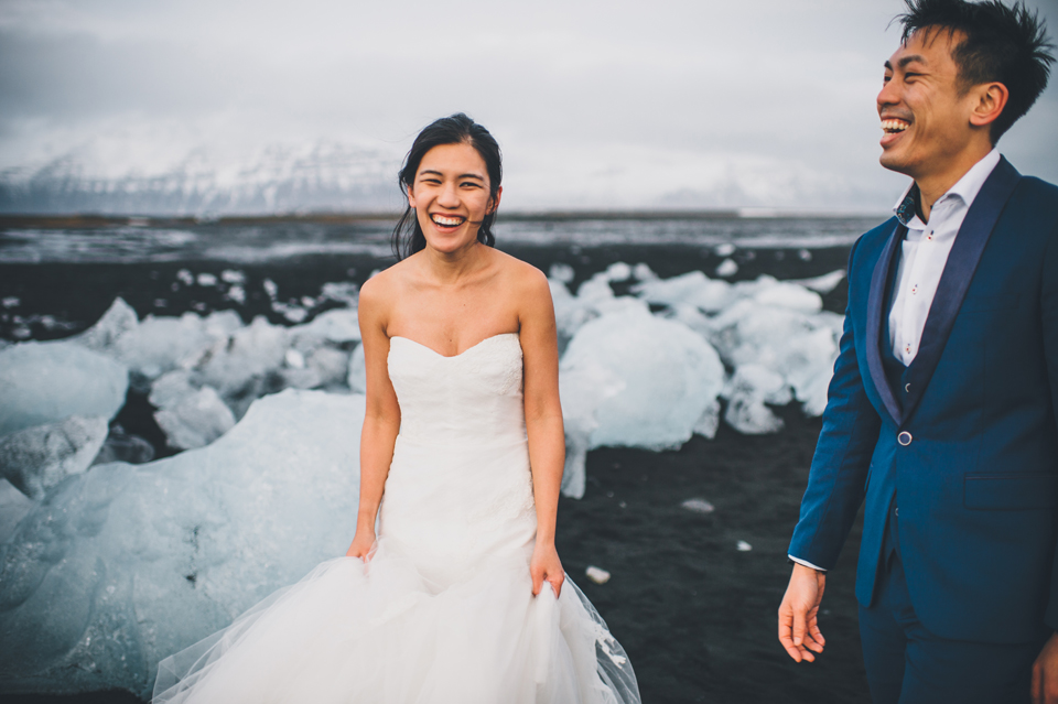 Jökulsárlón wedding