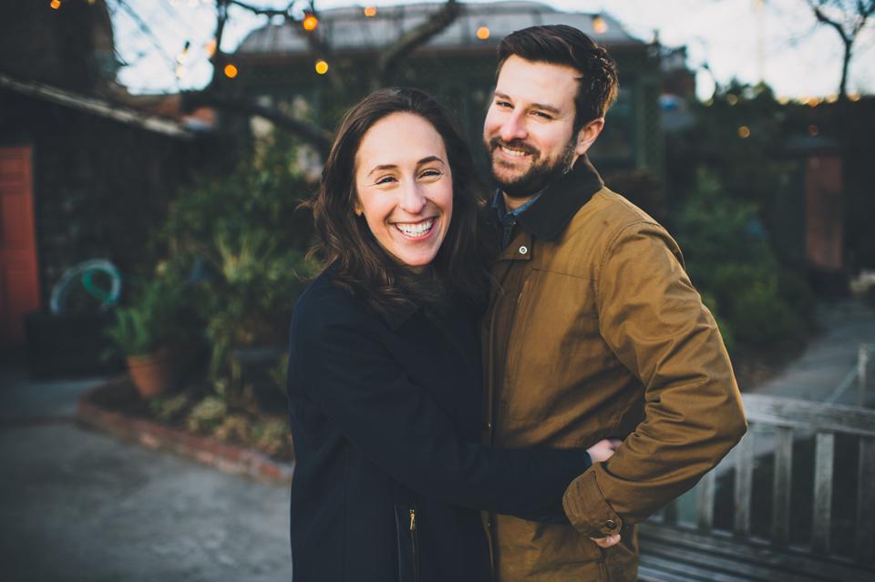 Brooklyn Dumbo Engagement session
