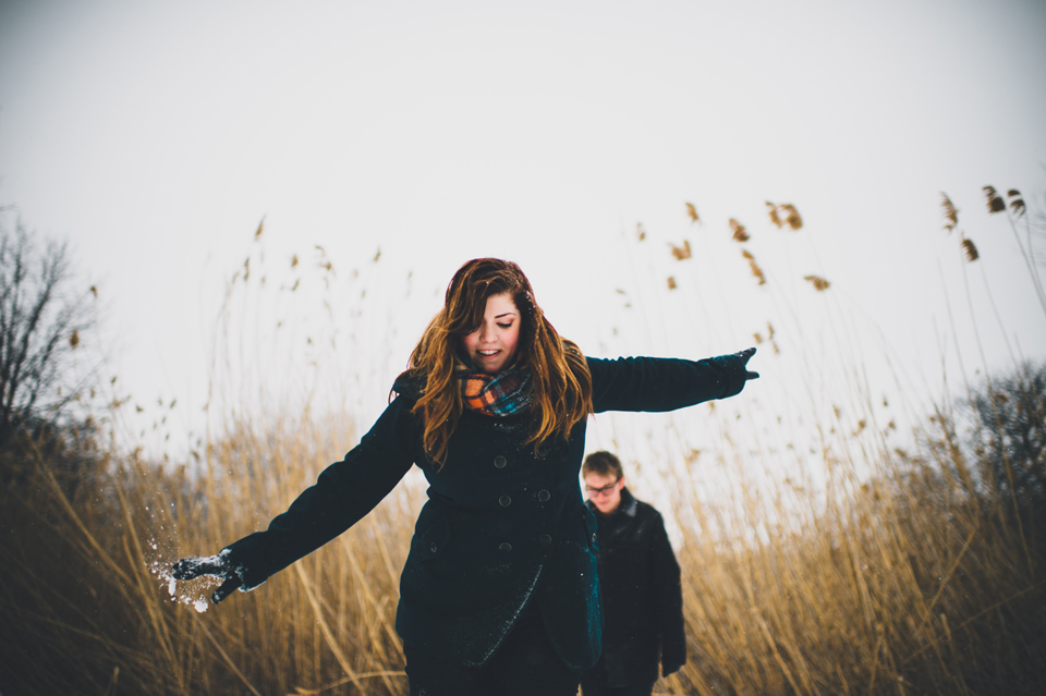 The Fens engagement session
