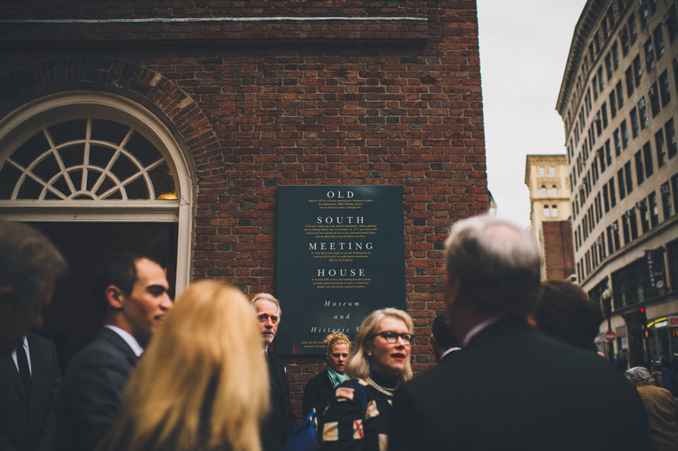 Old South Meeting House Wedding Boston