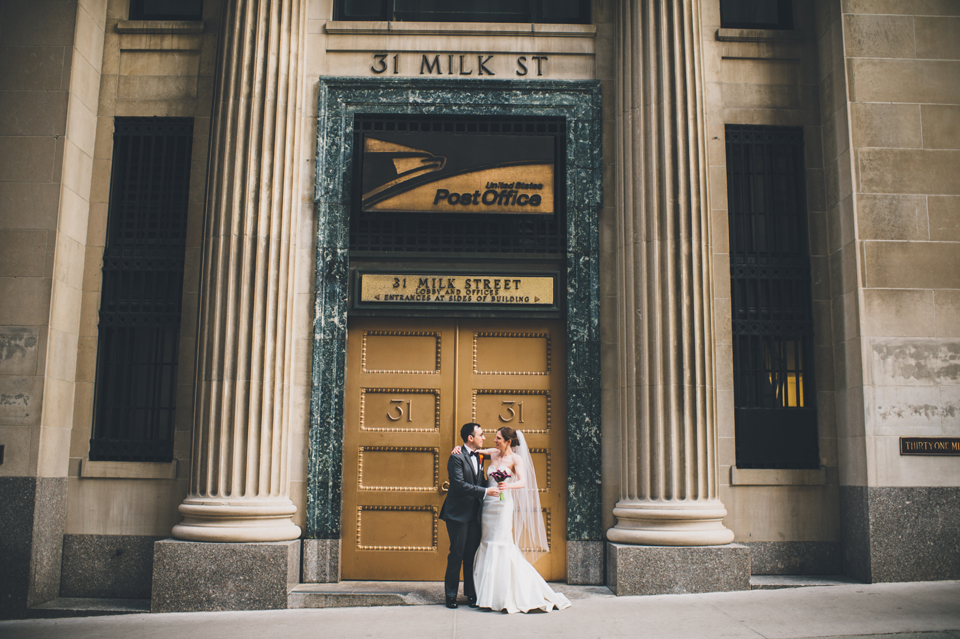 Downtown Harvard Club Wedding