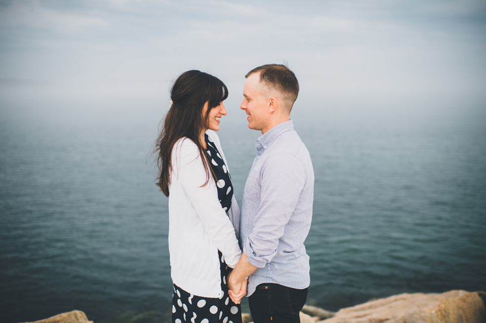 South Portland engagement photos