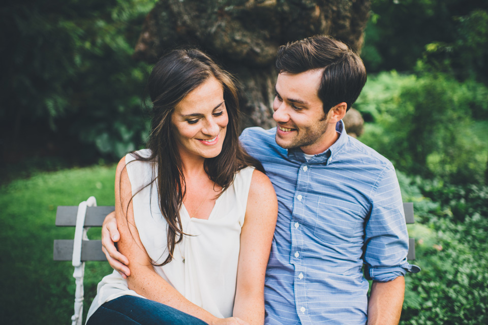 Long Hill Farm engagement session