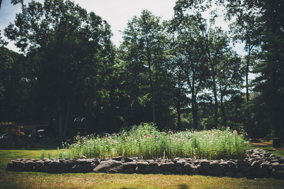 backyard farm wedding new england