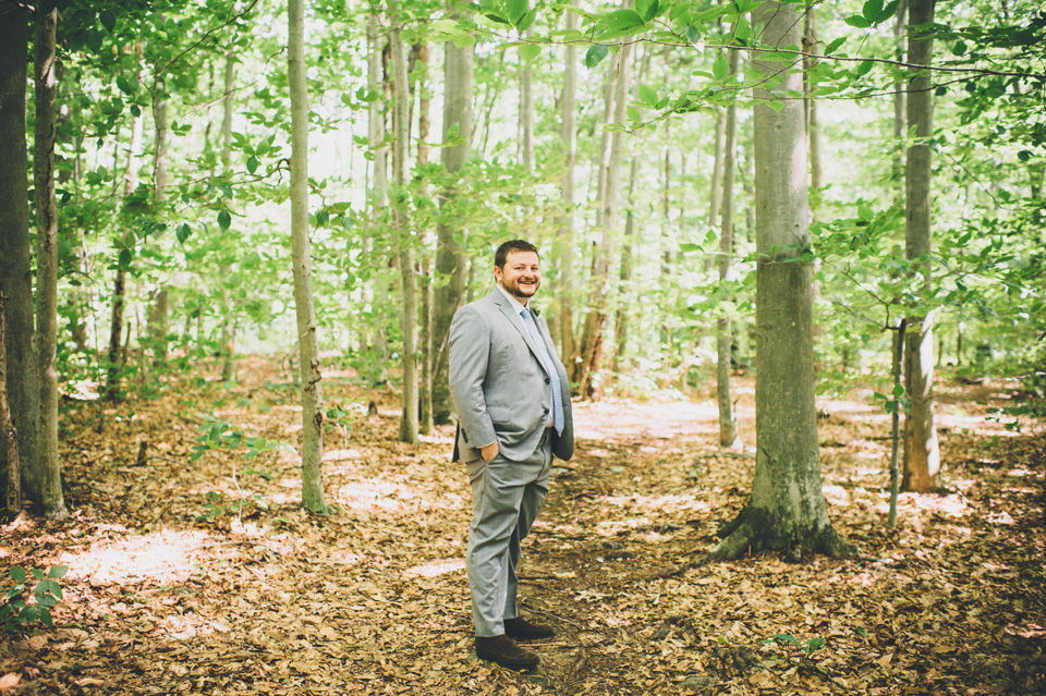 new england forest wedding
