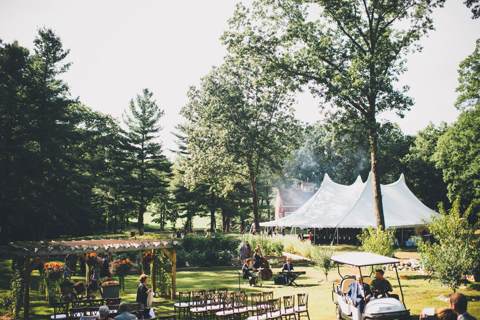 Connecticut farm wedding