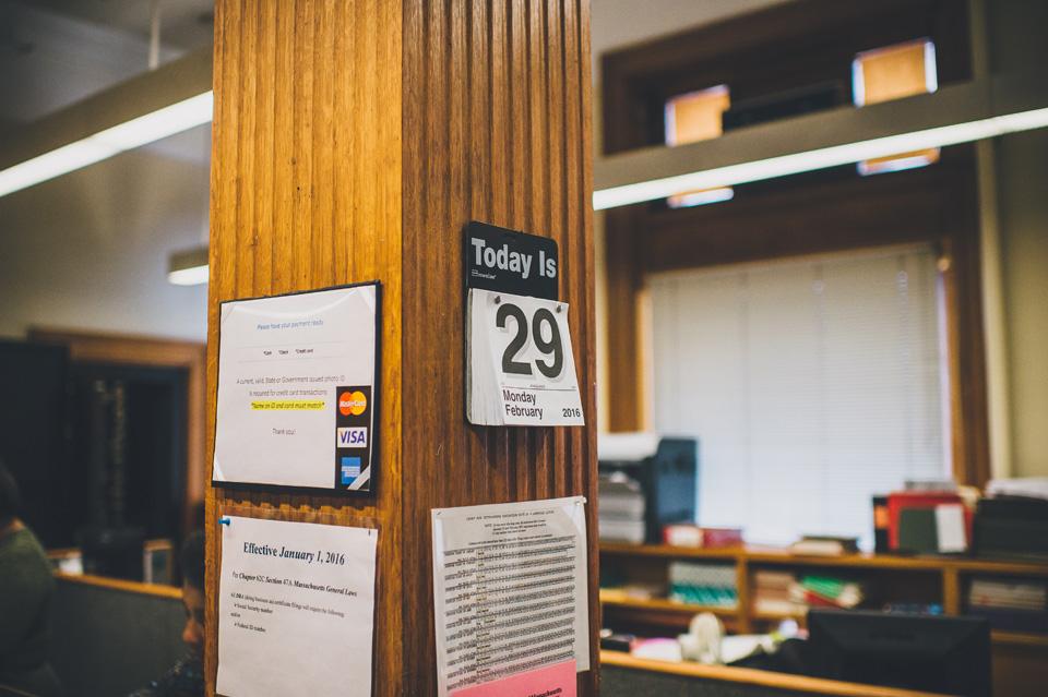 Cambridge City Hall Elopement photographer