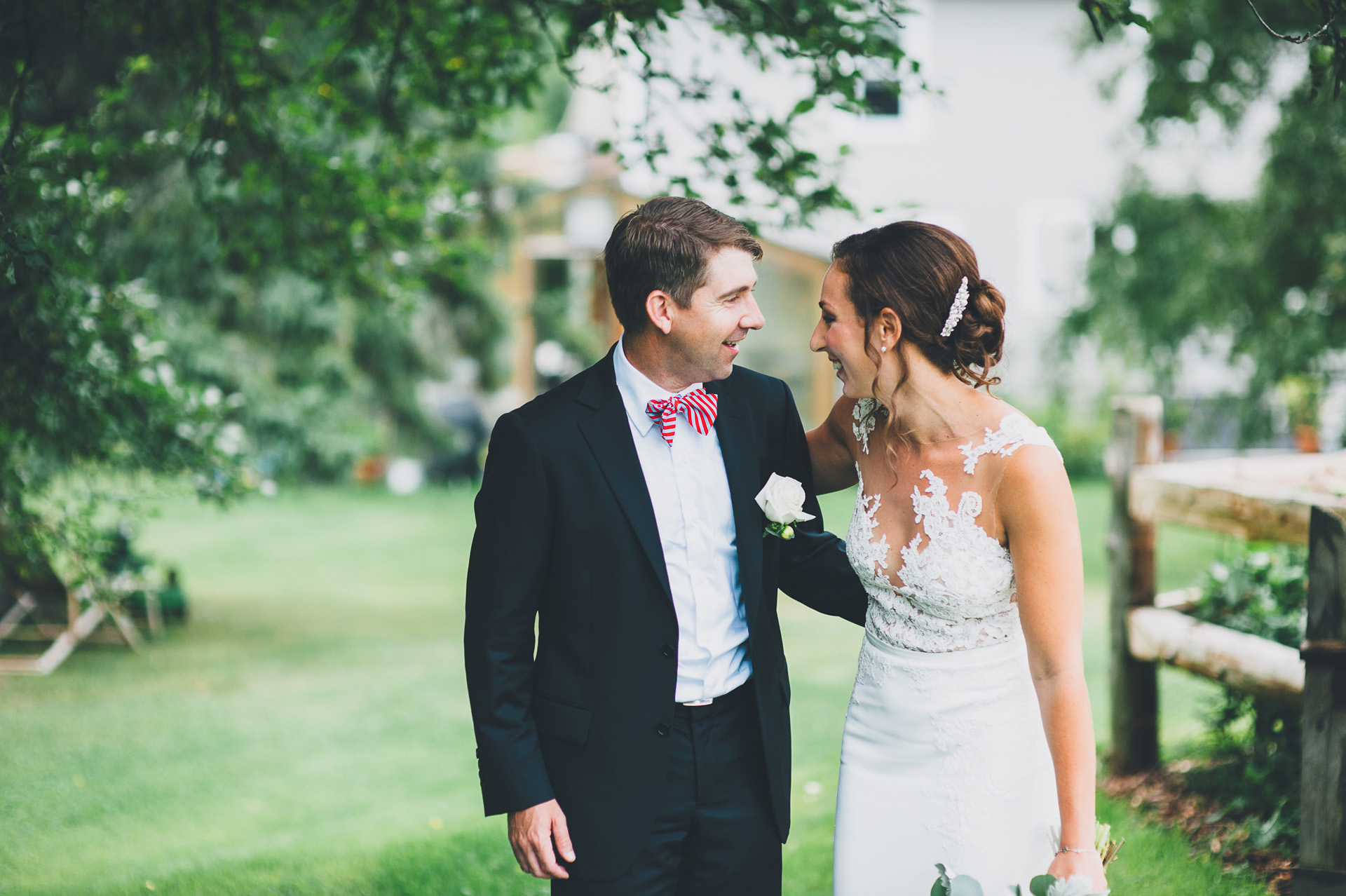 bliss ridge wedding first look
