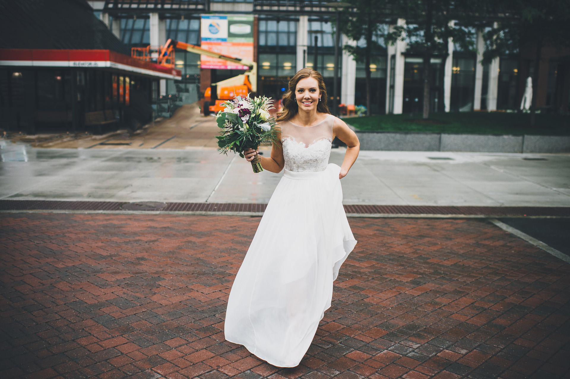 wedding first look kendall square