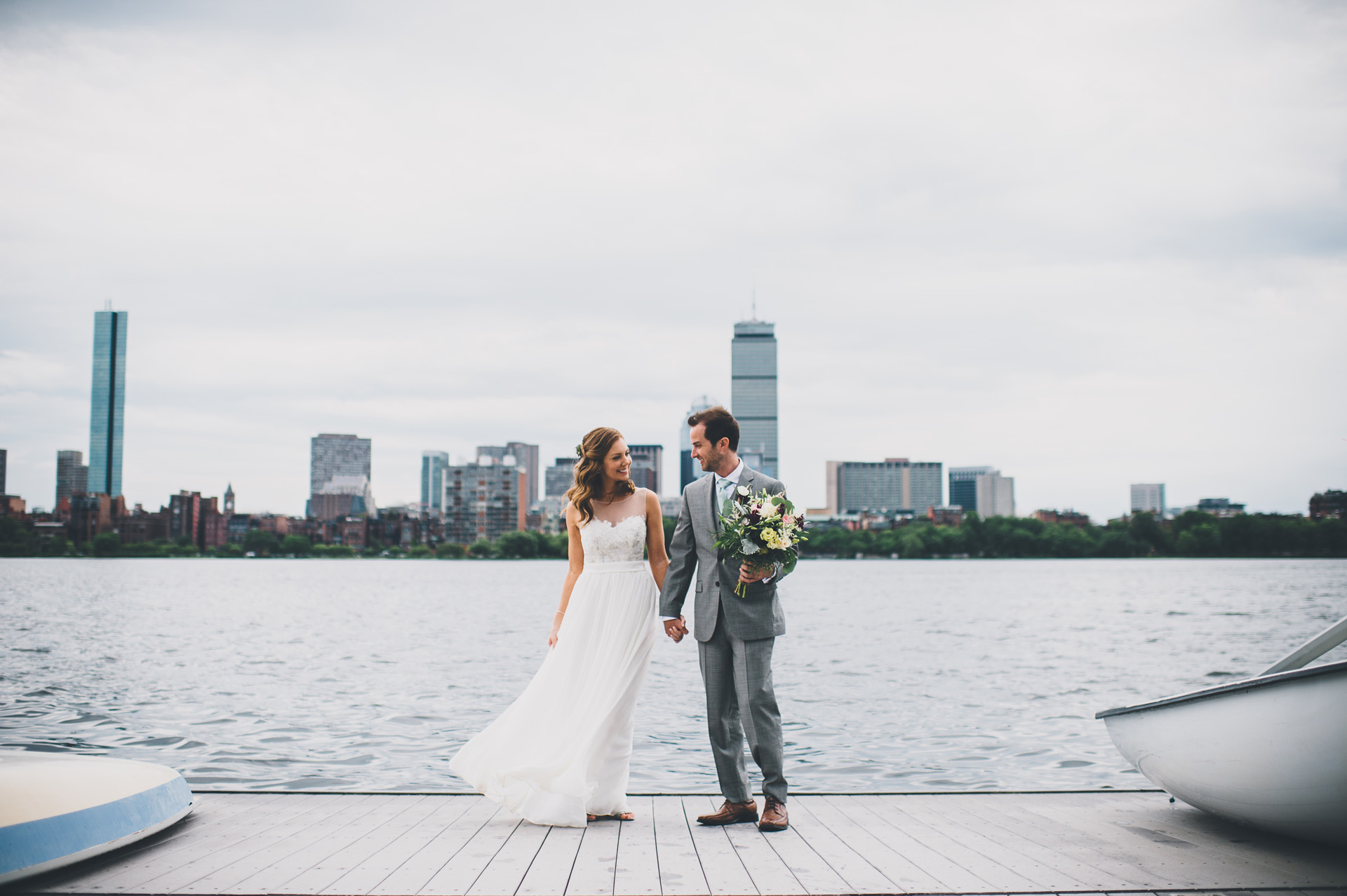 MIT Sailing Pavillon wedding