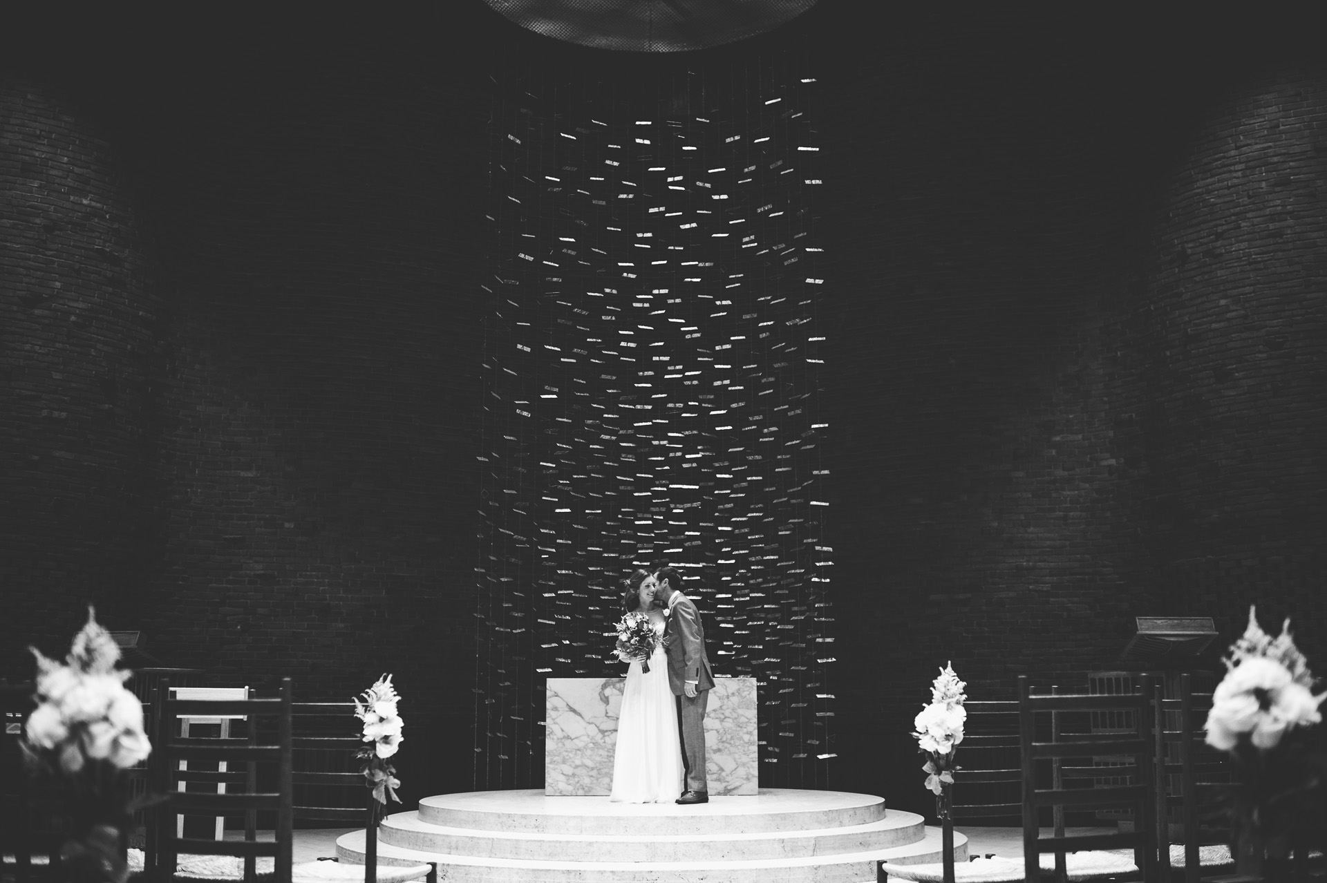MIT Chapel Wedding