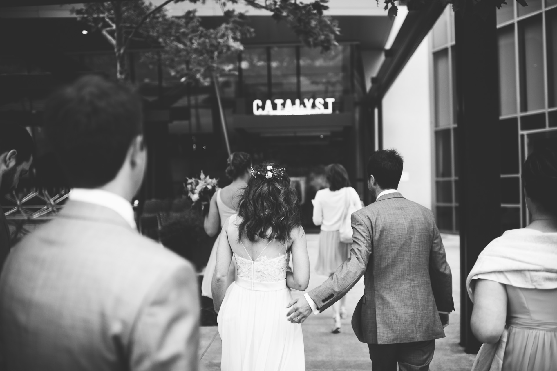 Catalyst Restaurant Wedding