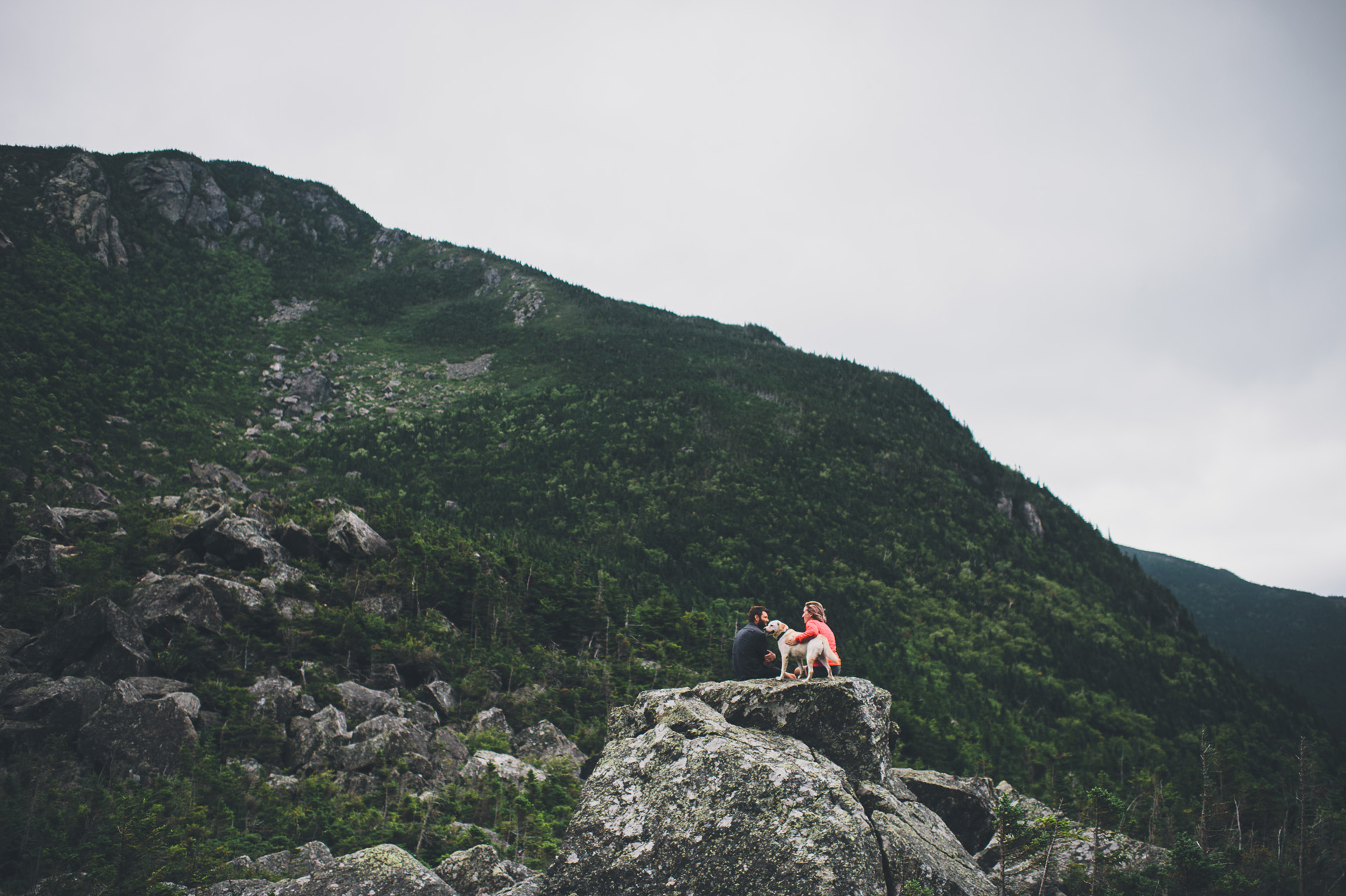 ramparts carter notch engagement session